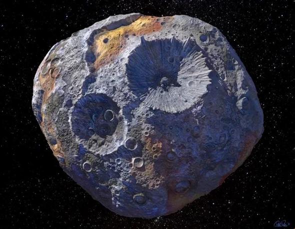 1 - سیارک غولپیکر طلایی چیست