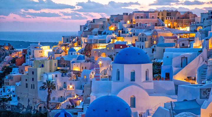سانتورینی - زیباترین جزیره های جهان