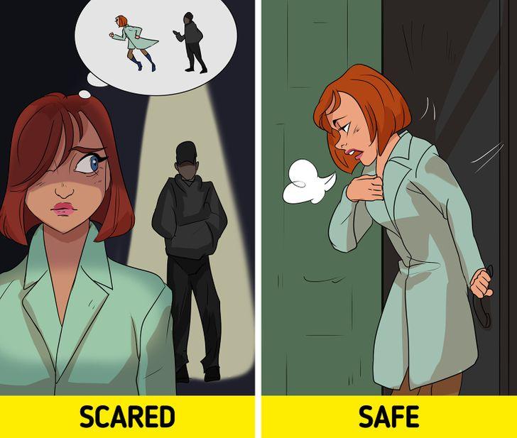 6 9d94f055b4b236e4ae60e00c46 - احساس ترس چه فایده ای برای بدن ما دارد